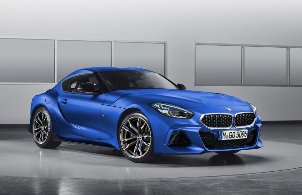 2019 Bmw Z4 Coupe Rendered In4ride